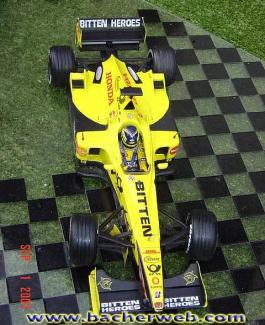 Formel 1 Minichamps Jordan