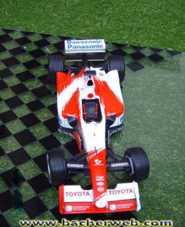 Formel 1 Minichamps Toyota