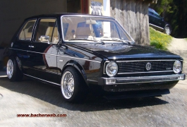 Komplett Tuning am Golf 1 GTI