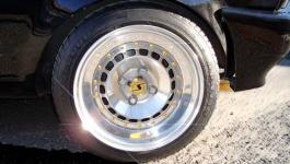 VW Polo 86c G40 Tuning/ THline Alufelgen mit Goldschrauben