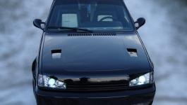 VW Polo 86c G40 Tuning/ Lufteinlässe in Motorhaube