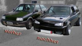 VW Polo 86c G40 Tuning/ alt und neu