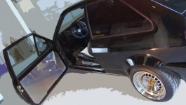 VW Polo 86c G40 Tuning/ sauber gezogene Linien